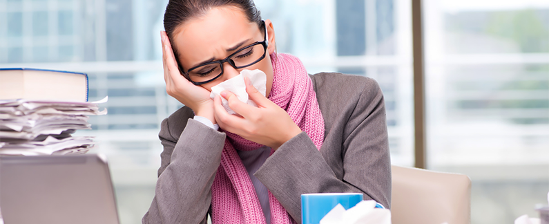 Going-to-work-when-you-have-the-flu