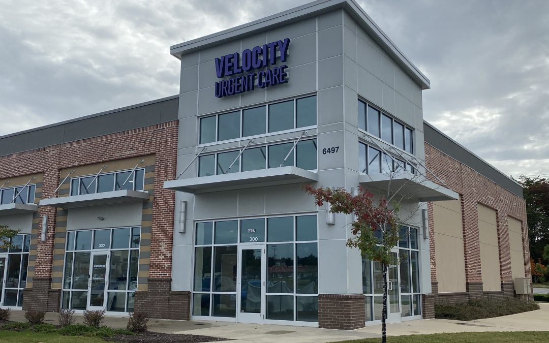 Velocity Urgent Care Announces Opening Of Newest Clinic In Williamsburg's Lightfoot Marketplace
